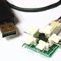 USB multitermometrs